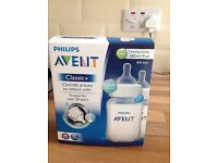 AVENT Baby bottles, breast pump and soft spouts
