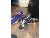 Two pair ( brand new ) Ralph Lauren trainers