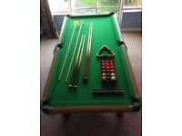 Table-top Snooker Table 6ft x 3ft