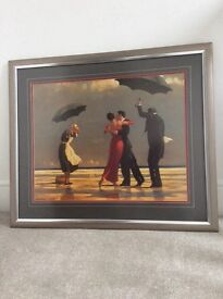 Jack Vetrianno framed print-The Singing Butler