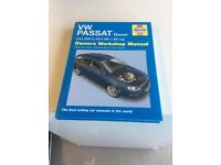 VW Passat workshop manual