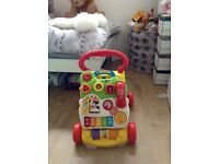 VTech first steps walker with manual