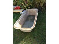 Builders bath tub