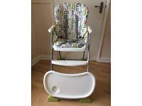 Joie Baby Mimzy Snacker high chair 123