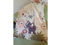 Children's jungle animal curtains
