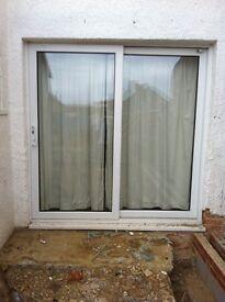 Patio/sliding double glaze door.