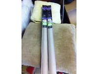 Pair of roller blinds (new in box)