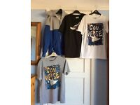 BOYS 19 PIECE BUNDLE OF CLOTHES 12/13 YEARS CONVERSE NEXT, TED BAKER
