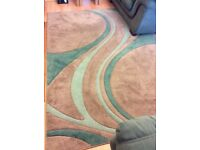 """Dunelm"" living room rug"
