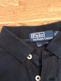 Polo Ralph Lauren shirt in black size medium for sale. We also have lots of others please ask