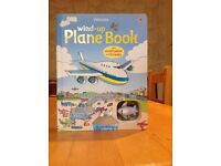Usbourne wind up plane book