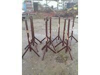 German Industrial trestles construction or industrial table legs