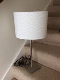 IKEA ALONG Table lamp ivory shade