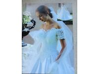 Alfred Angelo Wedding Dress - Ivory, size 16