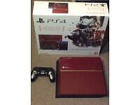 PS4 Limited Edition Metal Gear Solid V Console Boxed