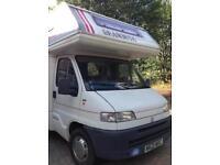 Fiat motorhome coach built