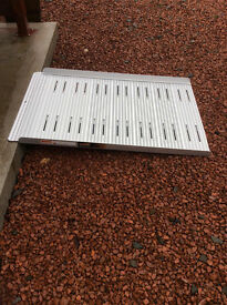 Non-folding disability ramp, 4ft long and 27.5 inches wide - used, good condition