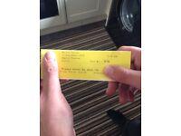 Nathan Carter tickets 23-September-16 pair Eden court