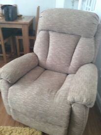Two seater sofa and two chairs Lazboy