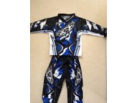 Kids motocross toddler suit 2-3yrs
