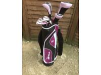 Ladies full set of Golf Clubs