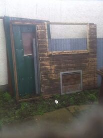 pigeon or storage shed
