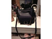 Navy blue Chloe handbag