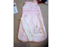 Sleeping bag, top and leggings