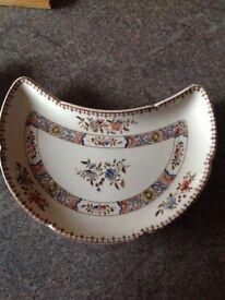 Copeland spode crescent plates