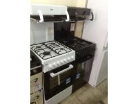 Beko freestanding high level grill single gas cooker. £280 New/graded 12 month Gtee