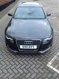 Smooth running Grey 2011 Audi A4 Avant 1.8 TFSI S-line manual petrol, great for family car
