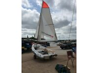 Walker Bay 10ft, model RID 310, with High Performance Sail Kit