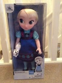 Brand new from Disney's Frozen - Elsa Animator Doll