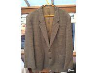 Men's tweed jacket vgc size Large