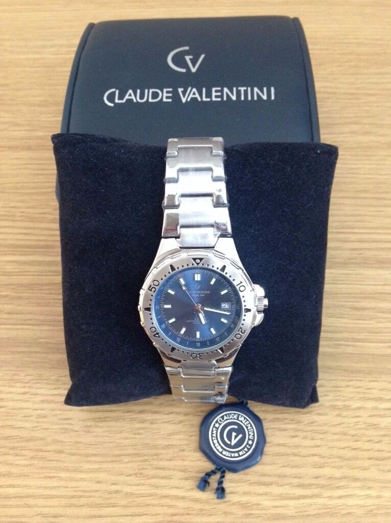 NEW Claude Valentini Sports 900 Gents Watch