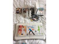 Nintendo Wii fit bundle.