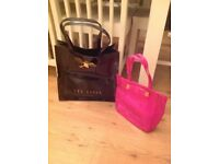 Large and small Ted Baker Tote/Shopping Bags