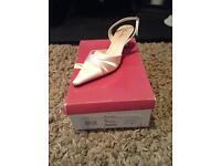 Rainbow Club 'Yasmin' wedding shoes - size 5.5 - never worn