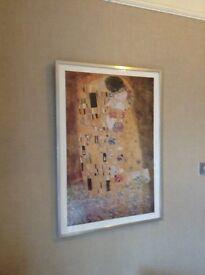 Gustav Klimt print - The Kiss