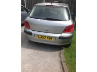 Peugeot 307 gray slight blow on the exhaust other than that brilliant drive