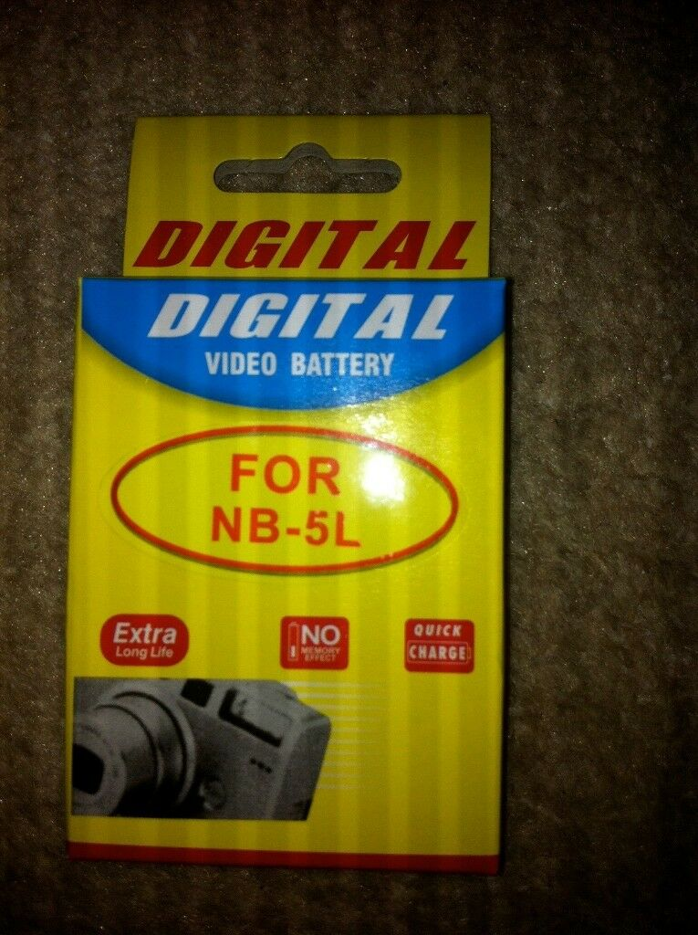 Nb5L Battery For Canon Powershot Sx200Is Sx210Is