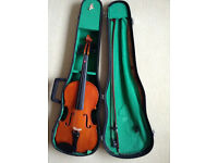 skylark violin with case needs some TLC