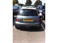 Bmw mini cooper s manual damaged