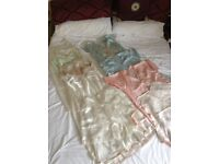 1940's lingerie. 5 petticoats, 3 nightdresses, 3 camiknickers. All silk/satin. Unworn.