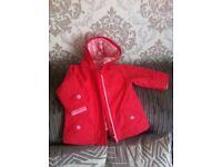 Baby girl coat - like new