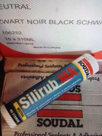 Black and stone silicone sealant, windows and doors? BARGAIN......