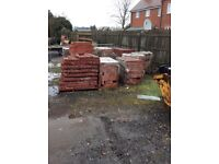 New red house bricks