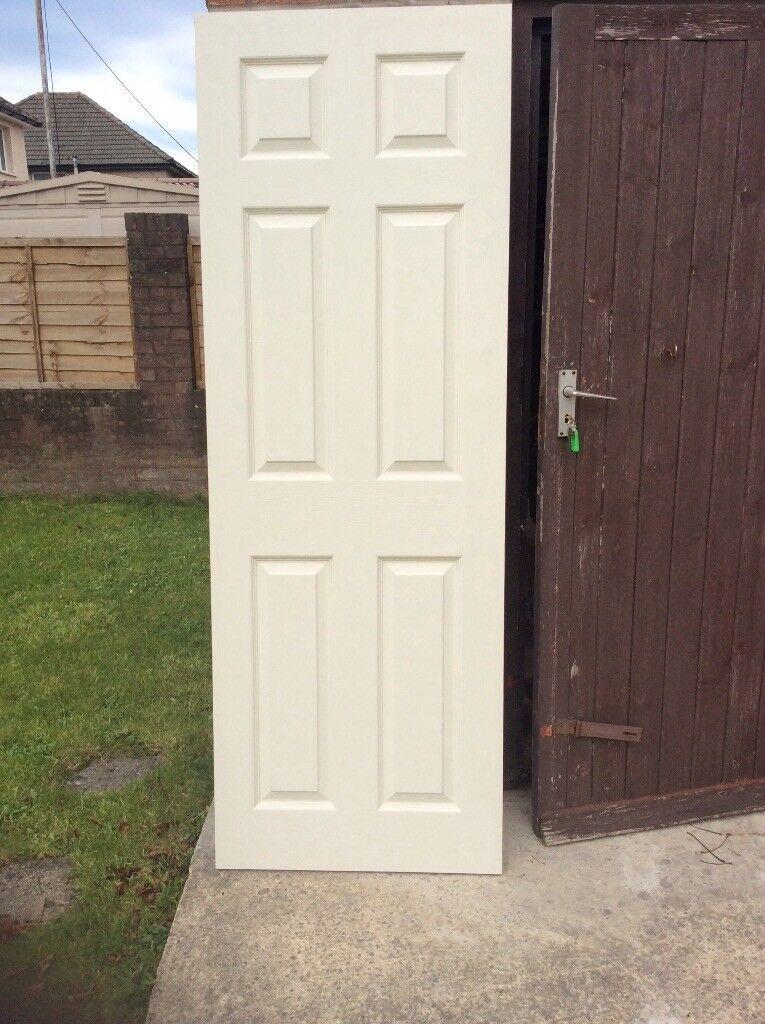 Internal door (new) ready primed £10