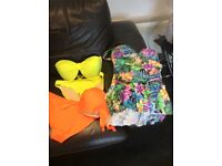 Brand new bikini, labels and tags on them both size 34 f top s 14 bottoms