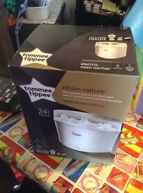 Tommy Tippee White Electric Sterliser
